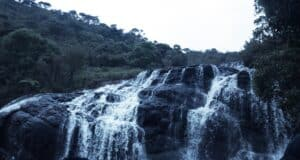 Baker's falls ,1 of the beautiful fall in sri lanka
