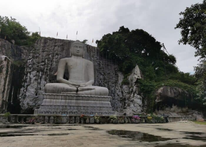 World's tallest granite samadhi buddha
