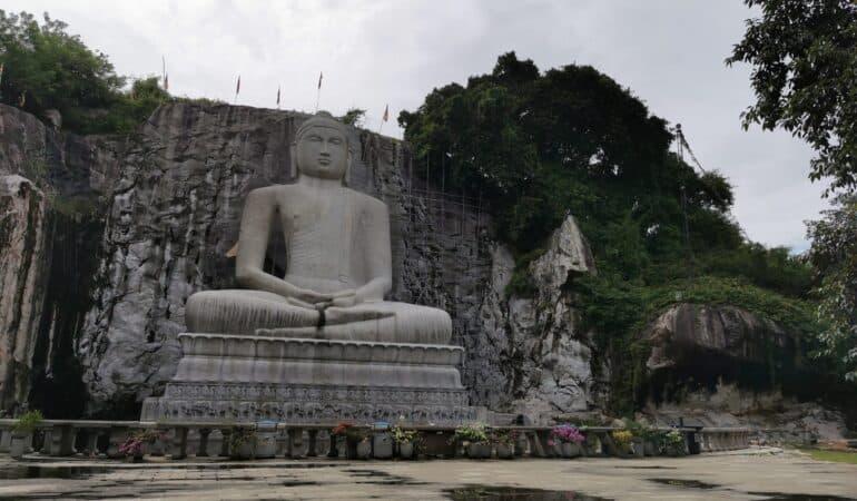 World's tallest granite samadhi buddha