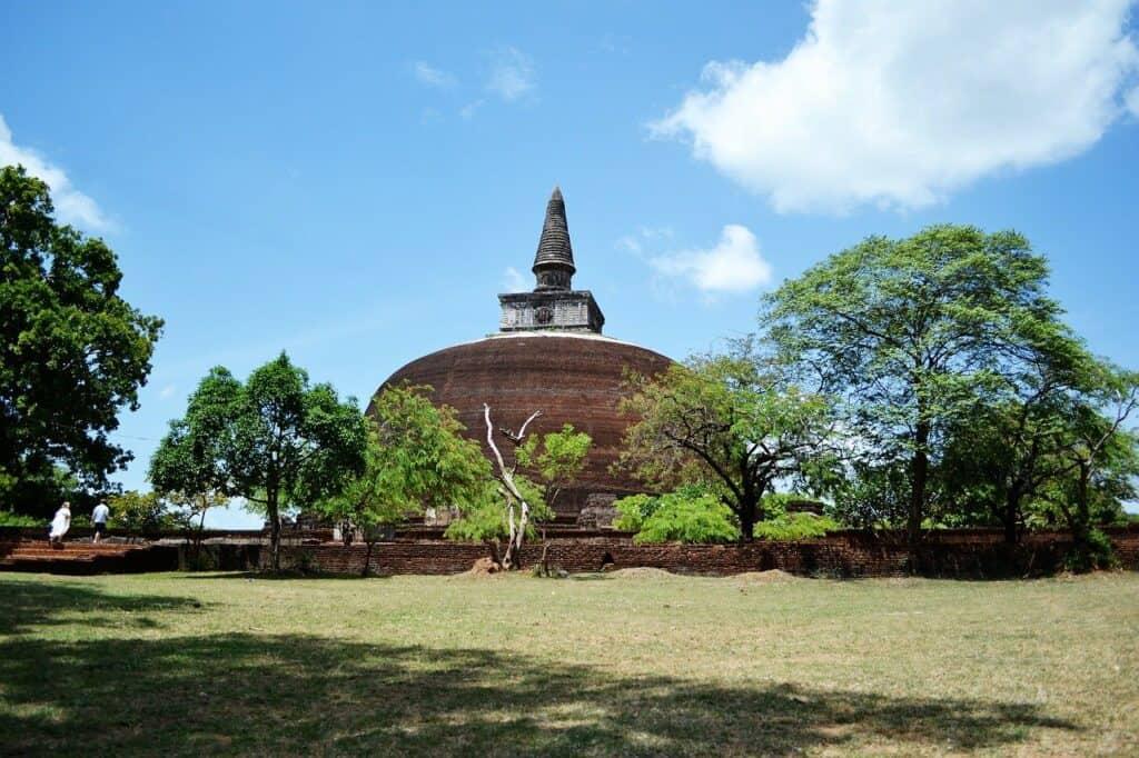 polonnaruwa map