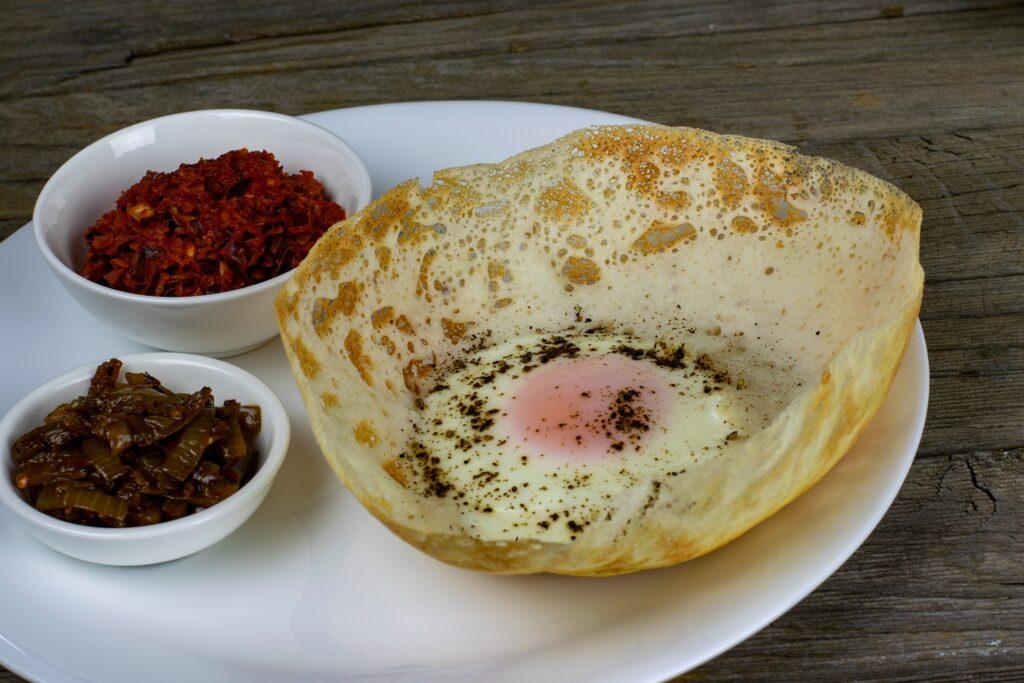 sri lanka food _hoppers _appa
