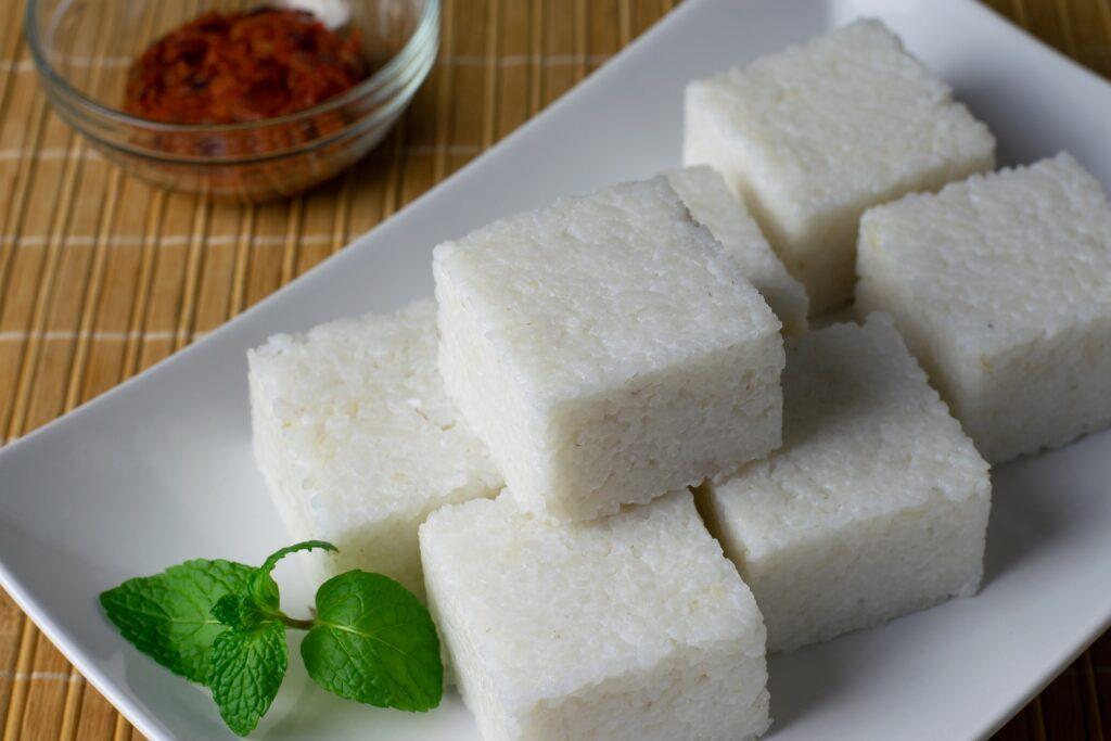 sri lankan food _kiri bath _food in sri lanka