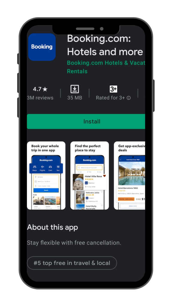 best booking apps for hotels_booking.com